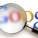Buscas no Google